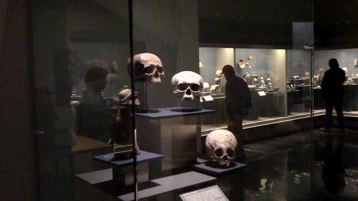 Национальный антропологический музей - Мехико (Мексика)
