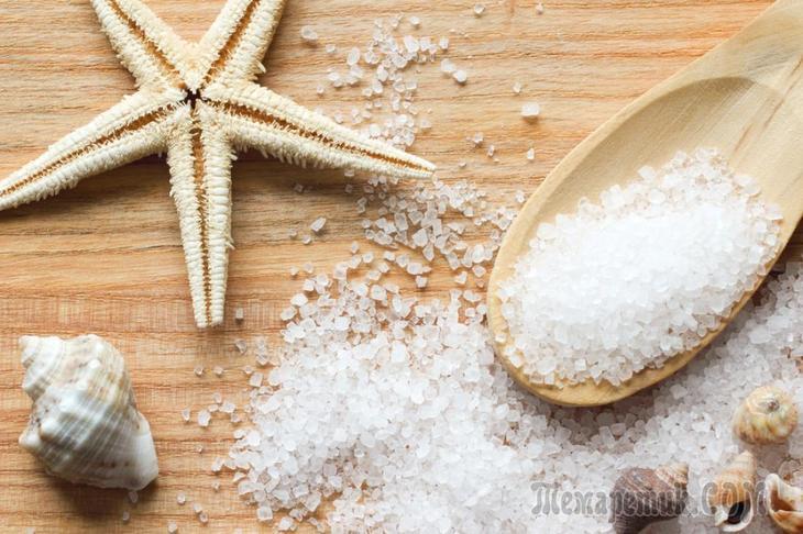 Морская соль пищевая: польза и вред, состав, варианты применения