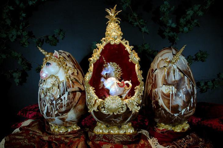Самые дорогие пасхальные яйца в мире, созданные великим Фаберже и другими умелыми ювелирами, фото № 2
