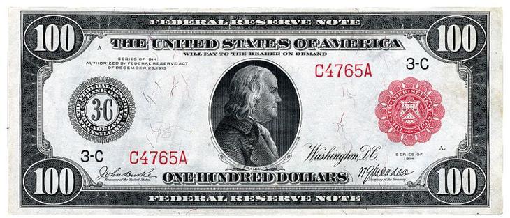 дизайн американских банкнот 15