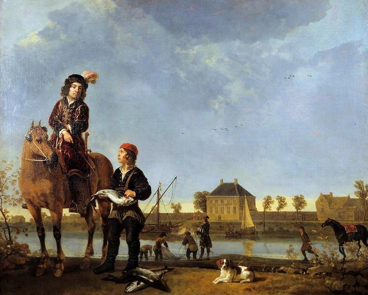 Портрет Питера де Ровере -- ок1650, 123х154, Маурицхейс Гаага