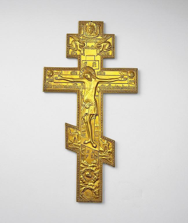 Кто изображен на кресте