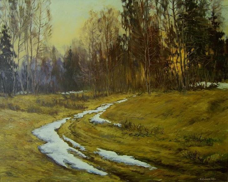 акварели художник Игорь Хайков - 08