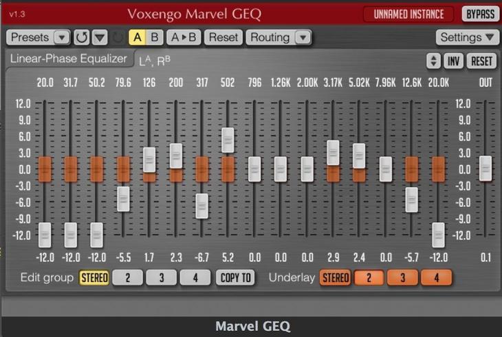 Рис. 2. Voxengo Marvel GEQ