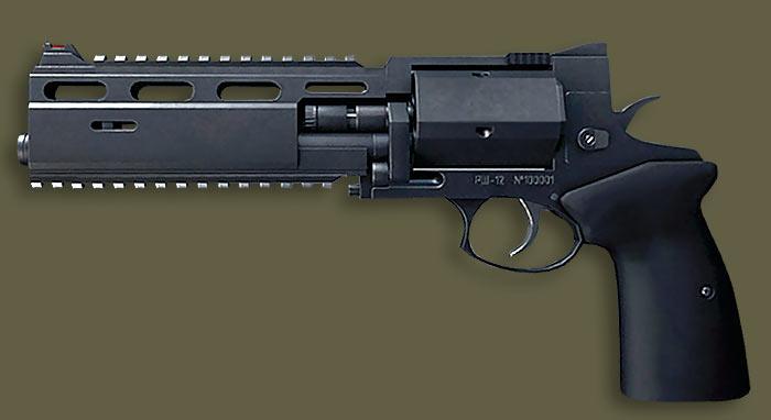 Зачем российскому спецназу револьвер РШ-12, и что собой представляет данное оружие