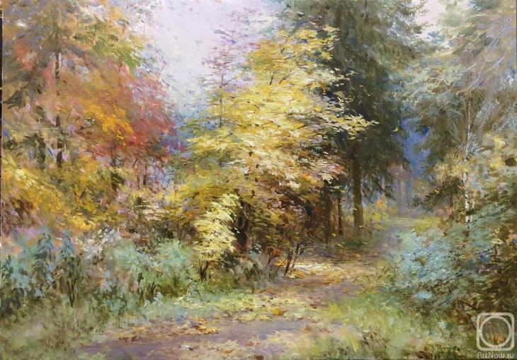 Картина маслом на холсте. Комаров Николай. Акулово