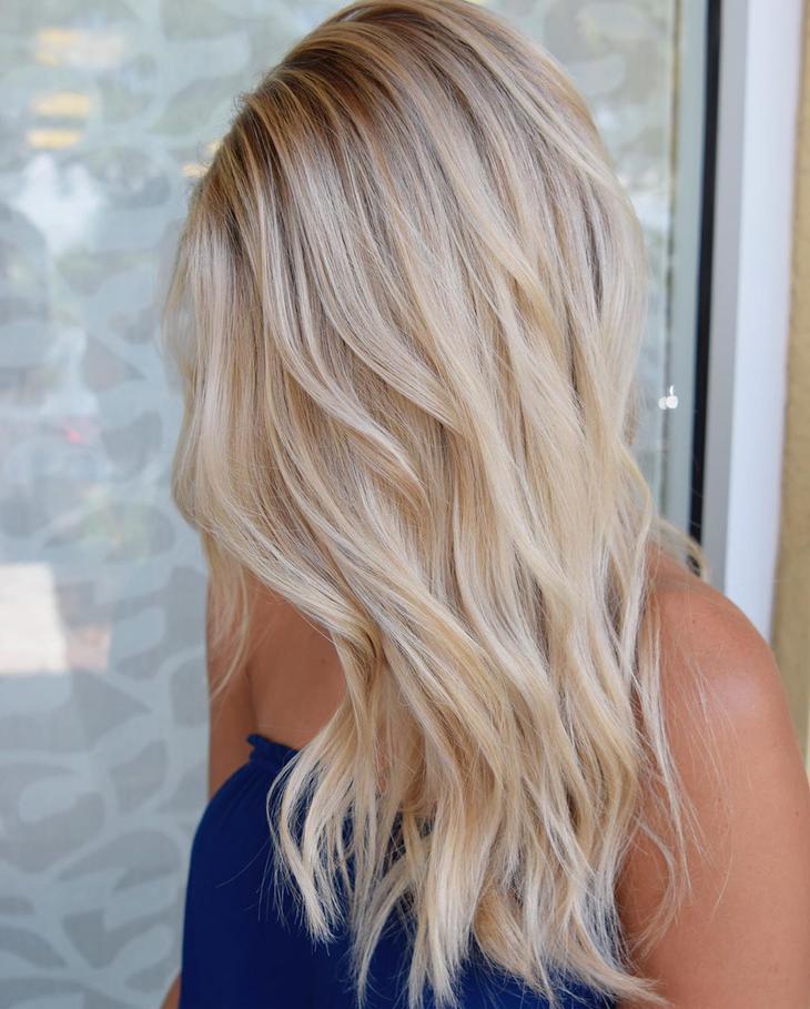 оттенки волос, популярные в 2019 фото 8