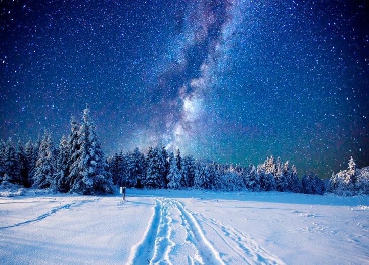 Красивые картинки, завораживающие великолепием звездного неба ночью