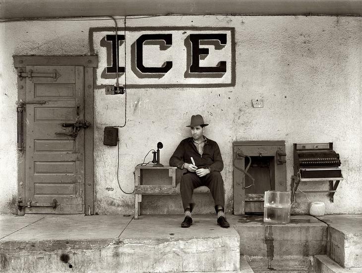 Торговец льдом. Техас, 1939 год. жара, история, кондиционер