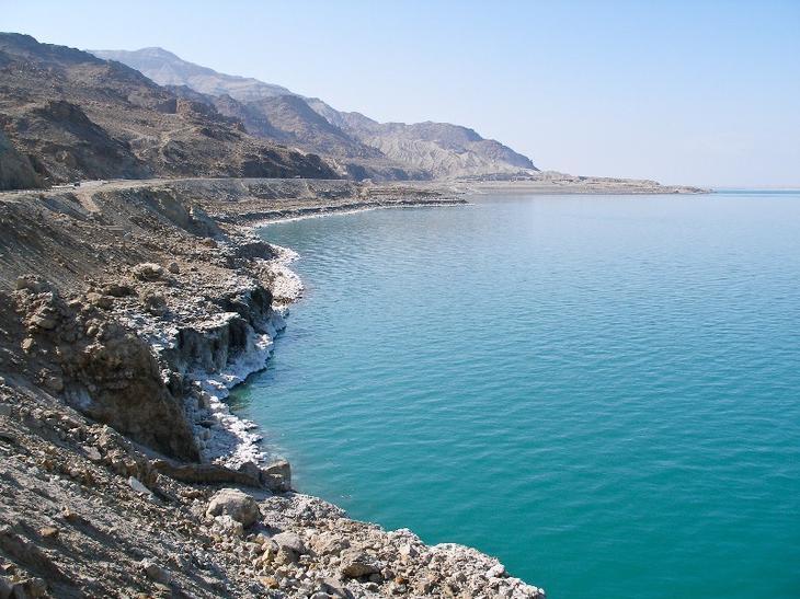 Мертвое море. Израиль. Фото
