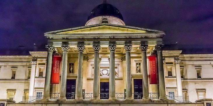 Национальная галерея. 10 Чудес Лондона. Фотографии красивых мест Лондона. Фото с сайта NewPix.ru