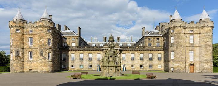 Дворец Холируд и аббатство Холируд (Palace of Holyroodhouse and Holyrood Abbey)