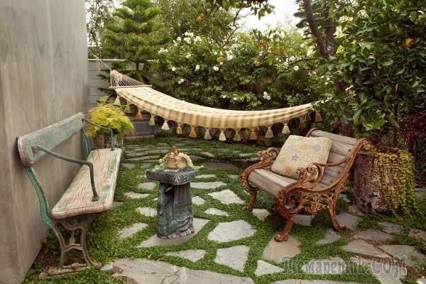 Дизайн двора частного дома: создаем красивый экстерьер