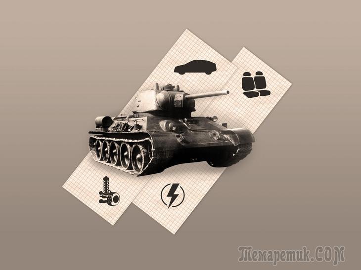 Танк Т-34 с пробегом: запас толщины металла на 100 лет и слабая электрика до рестайлинга
