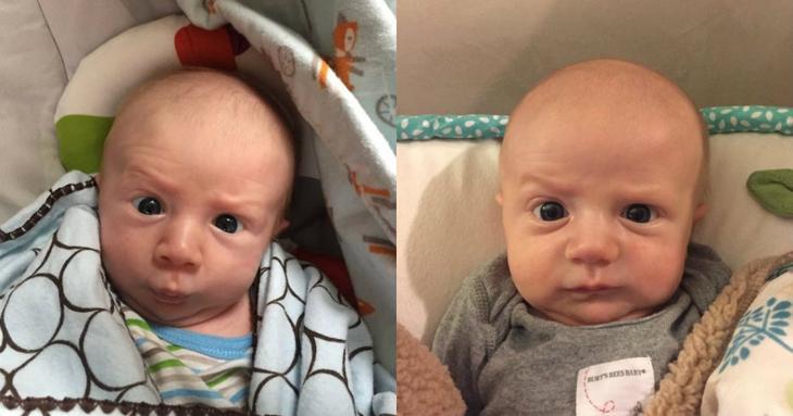 Самый эмоциональный младенец в мире сведет вас с ума