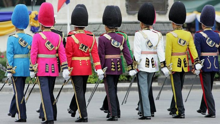Tailândia Estilo, exército, guerra, mundo, forma, roupas, forma