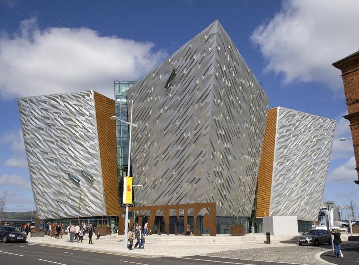 Здание Титаник в Белфасе