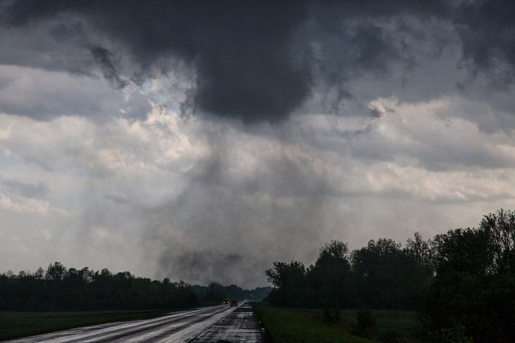 Торнадо класса F2 в штате Миссури