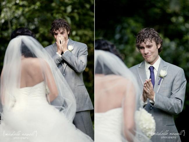 Мужчины, которые впервые увидели свою избранницу в свадебном платье