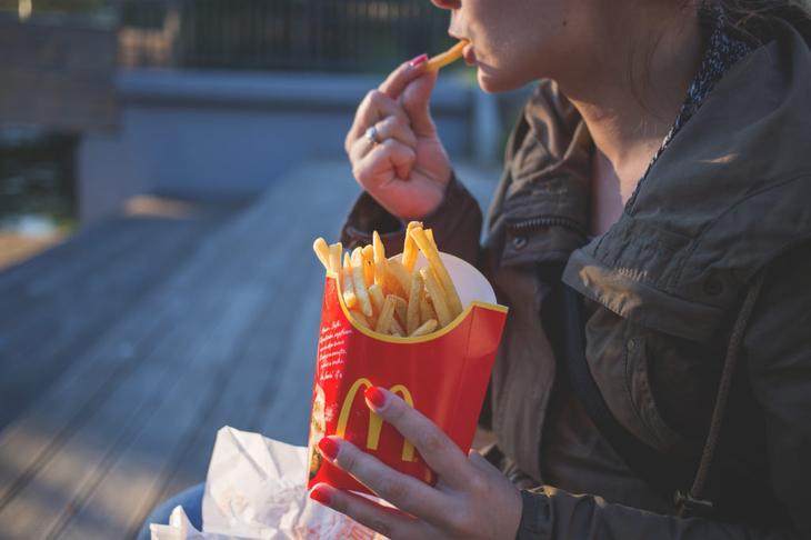 почему хочется есть. картофель фри из макдональса