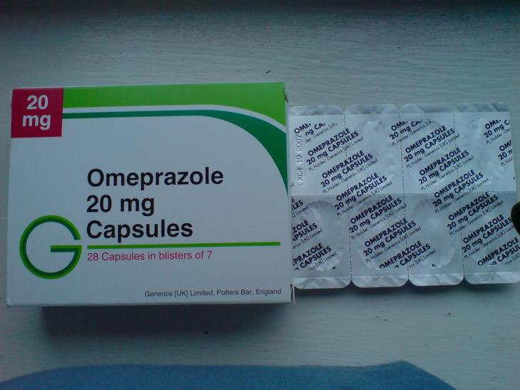 """""""Омепразол"""" для желудка."""