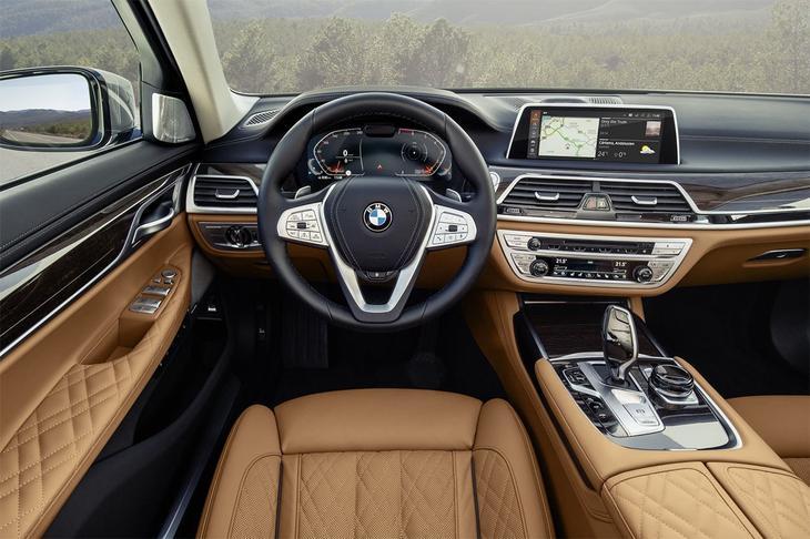 фото салон BMW 7-Series 2021-2020