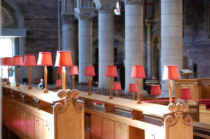 В соборе Белфаса