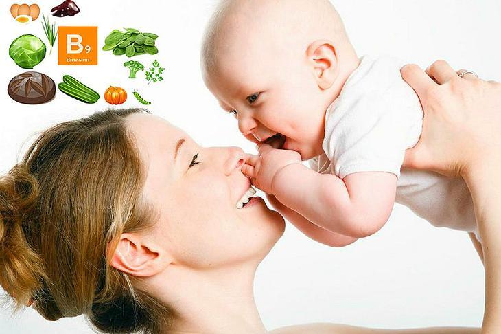 счастливая мама и ребенок
