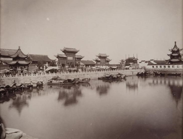 Редчайшие кадры Китая времён династии Цин: природа, люди, города безвозвратно ушедшей эпохи 11