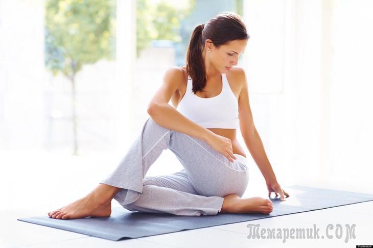 Упражнения для гибкости тела для начинающих в домашних условиях