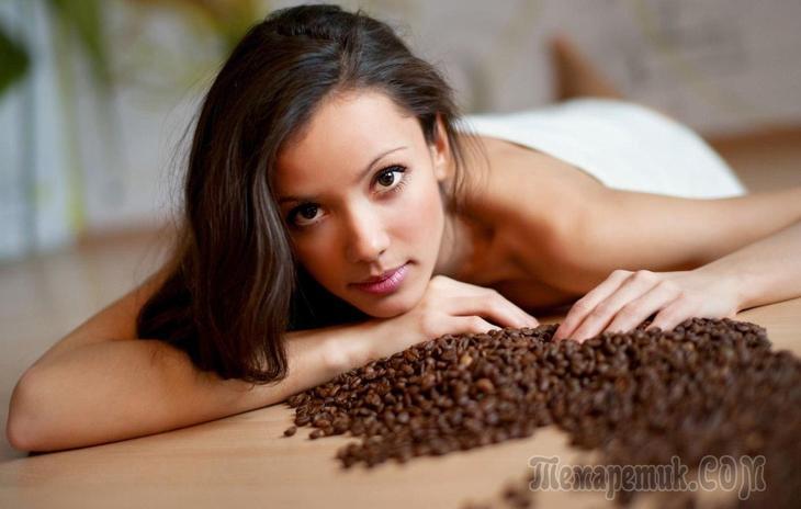 Скраб из кофейной гущи от целлюлита