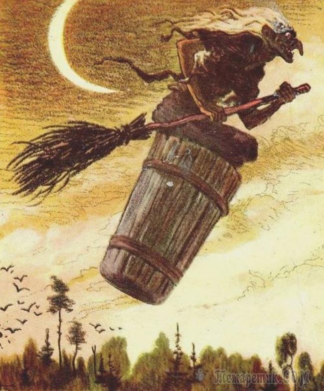Баба яга летит в Сочи (Стих)