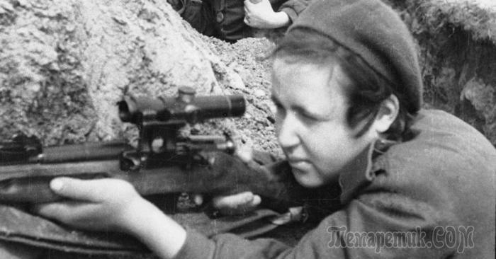 Женщины-снайперы Советского Союза