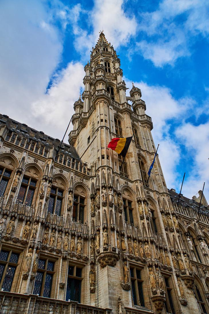 ратуша Брюсселя