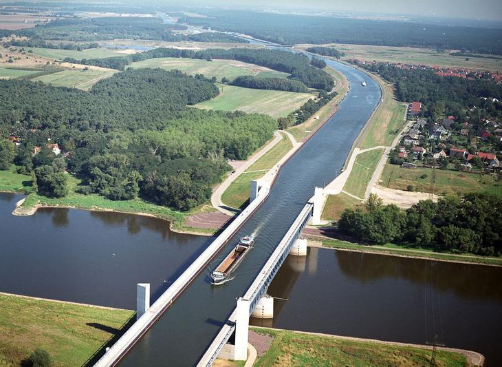 водный мост в бельгии фото как