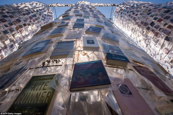 Книжный Парфенон: новая необычная достопримечательность Германии