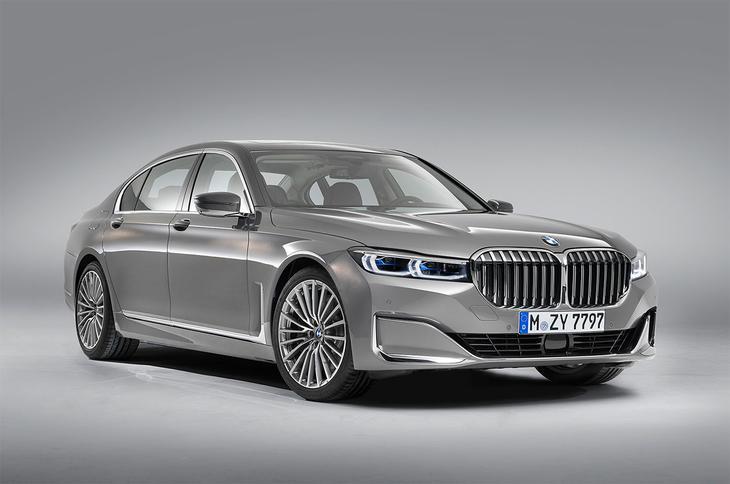 фотографии BMW 7-Series 2021-2020