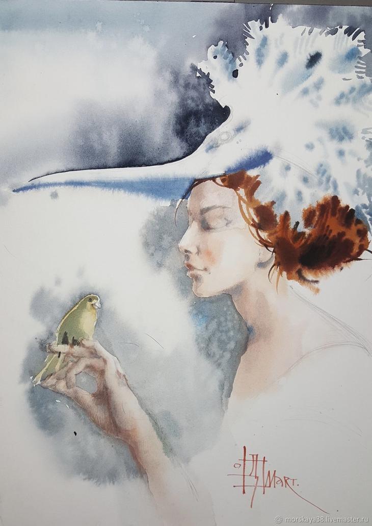 Птицы, Картины, Москва, Фото №1