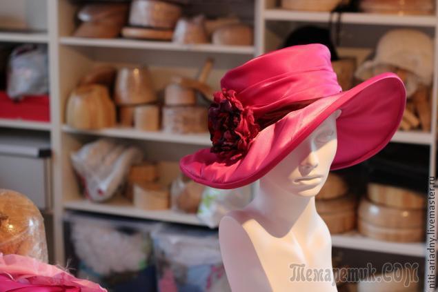 Создаем летнюю шляпку из ткани