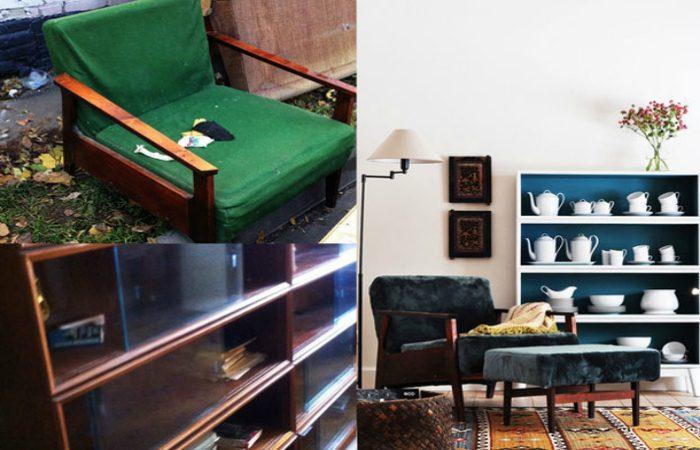 20 вдохновляющих примеров переделки старой советской мебели