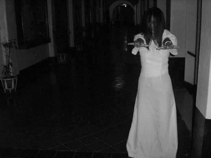 Белая Дама из Кампо Санто легенды, привидения, призраки, пыстыня