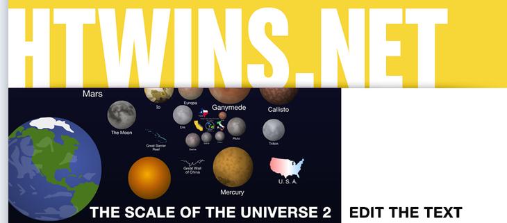 Рис. 7 – Узри масштабы вселенной