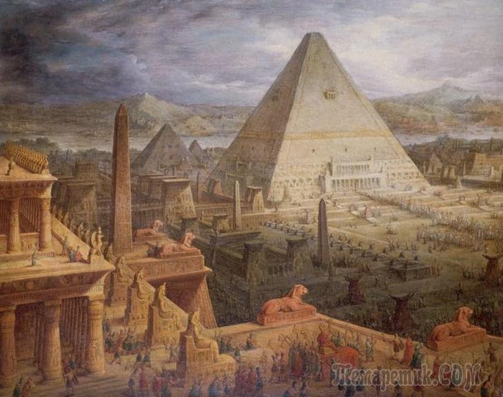 Заадочные технологии древнего Египта, которым до сих пор нет объяснения