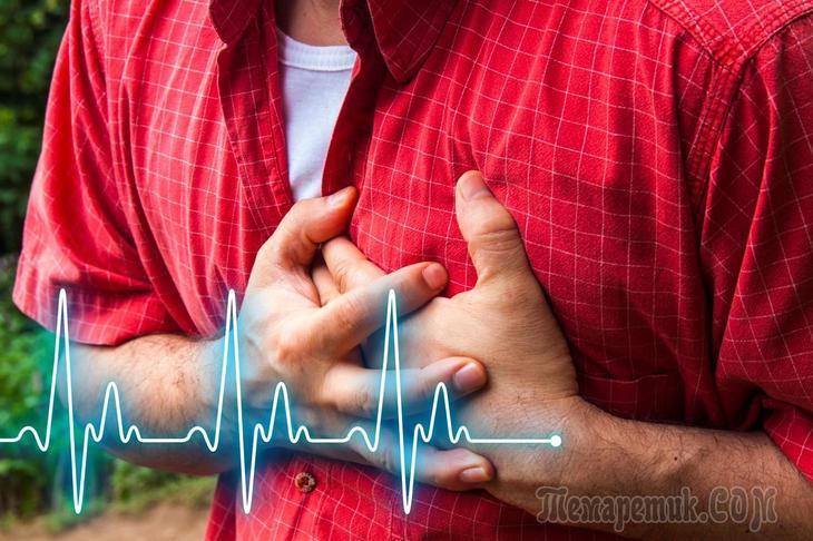 Симптомы за месяц до инфаркта