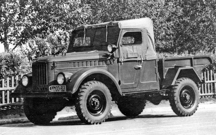 12 «козликов» ГАЗ-69, которых вы не видели