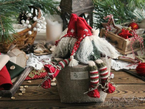 Шьем рождественского гномика