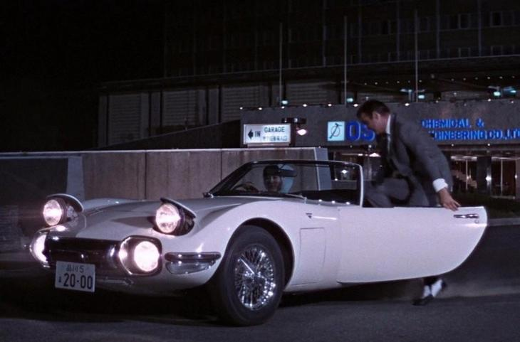 1967 год, You only live twice: Toyota 2000GT
