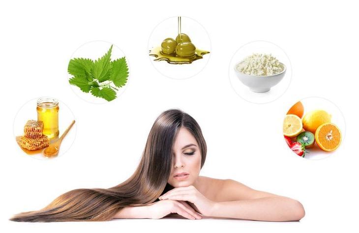 Ингредиенты для приготовления маски для быстрого роста волос