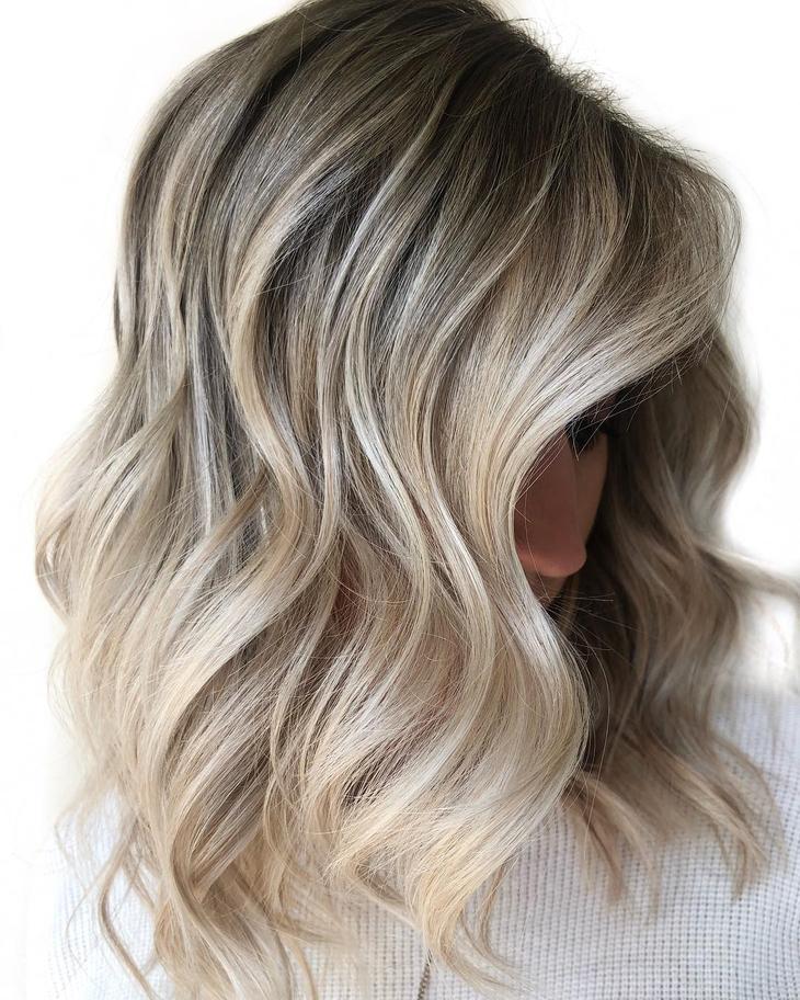 оттенки волос, популярные в 2019 фото 11