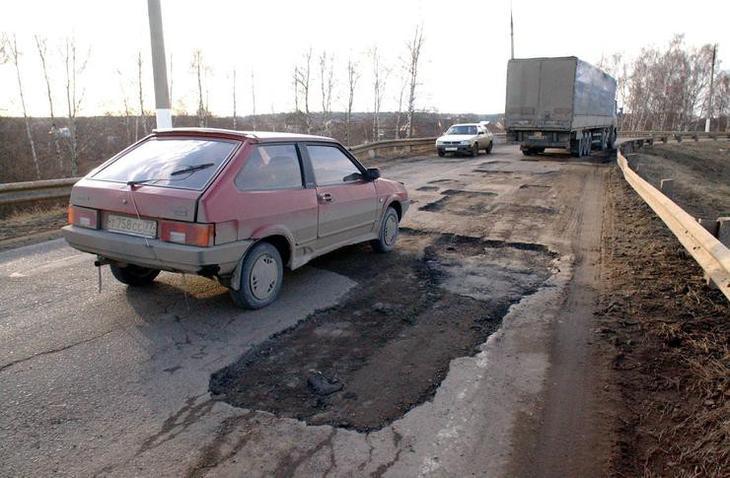 Как починить разбитое авто за счет дорожников